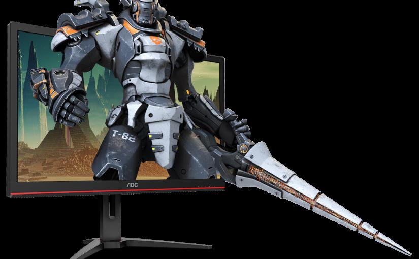 Îmbunătățește-ți jocul cu noul monitor de gaming AOC 4K, 1 ms și AMD FreeSync: G2868PQU