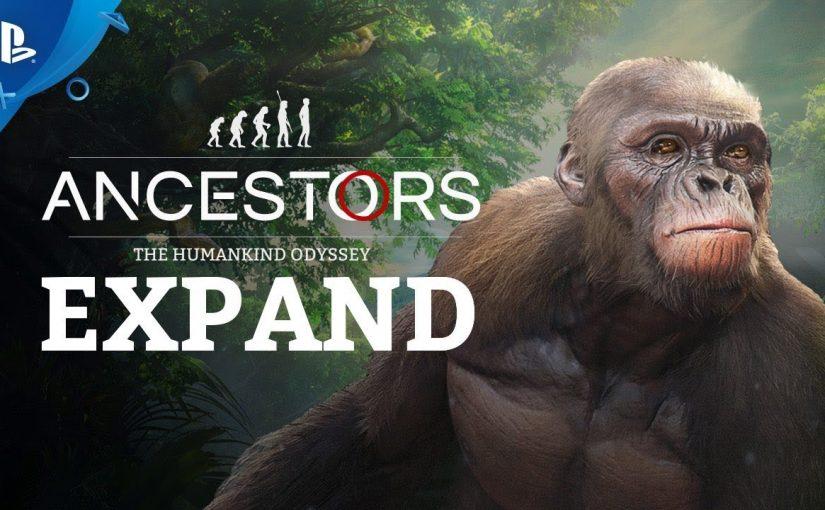 Ancestors: The Humankind Odyssey va fi lansat pentru PC pe 27 august 2019, urmând să apară și pentru console în decembrie 2019